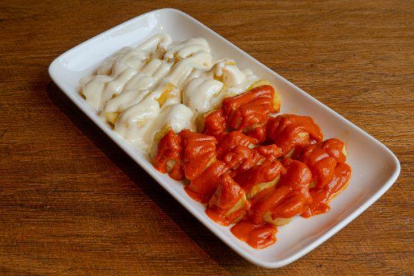 Patatas bravas con alioli Madrid